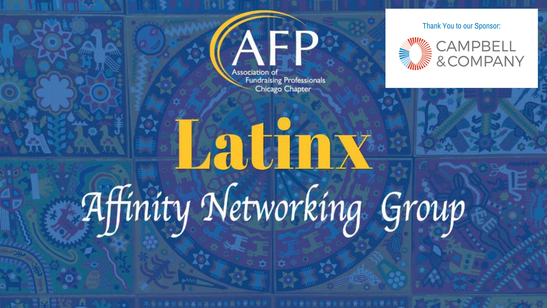 Latinx Affinity Group May 18