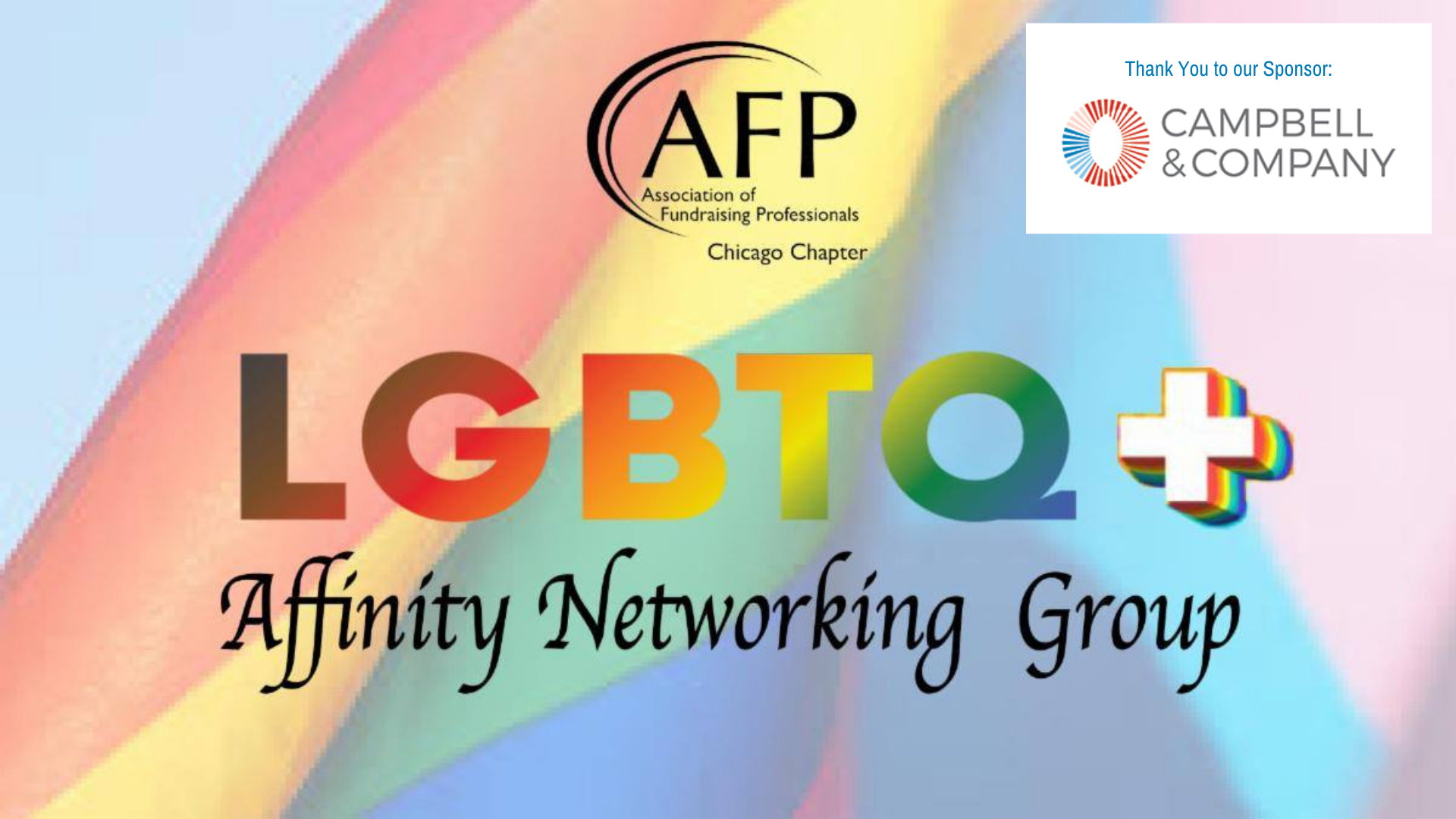 LGBTQ+ Affinity Group May 19