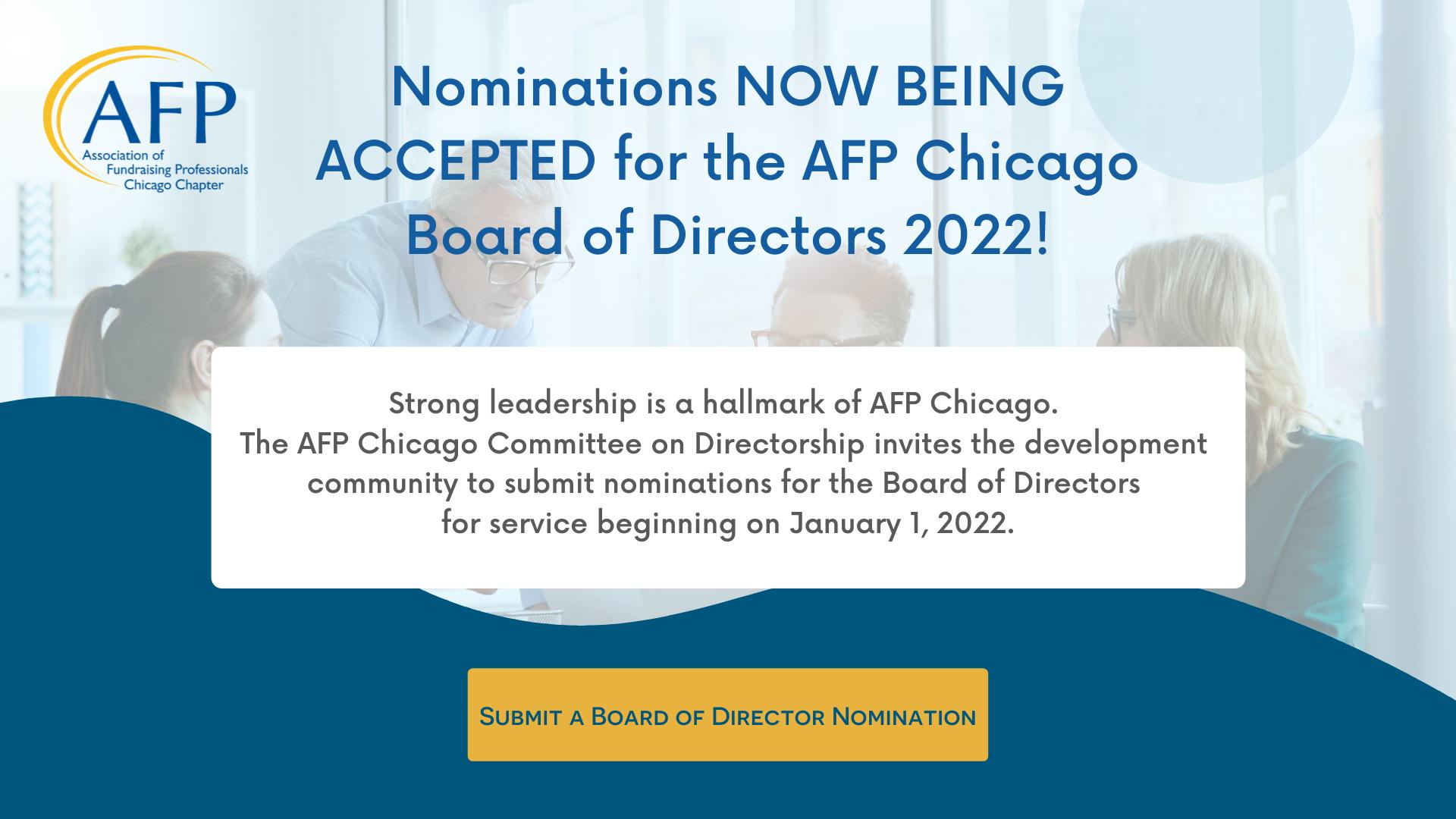 Board of Director Nominations